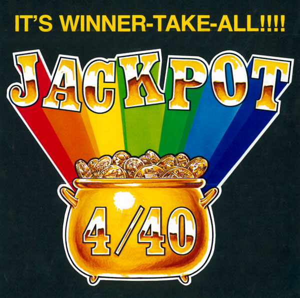 The Lottery's first lotto-type game 4/40 goes on sale.